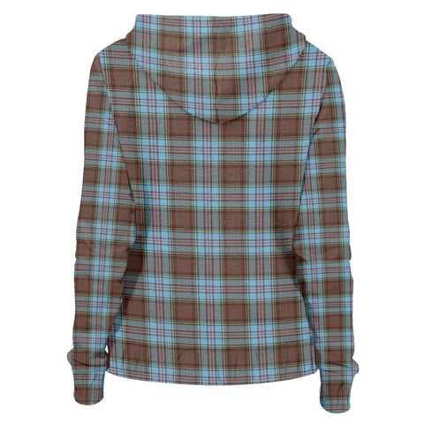 Tartan Zip Hoodie -Anderson Ancient | Men & Women | Clothing
