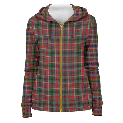 Image of Tartan Zip Hoodie -Anderson of Arbrake | Men & Women | Clothing