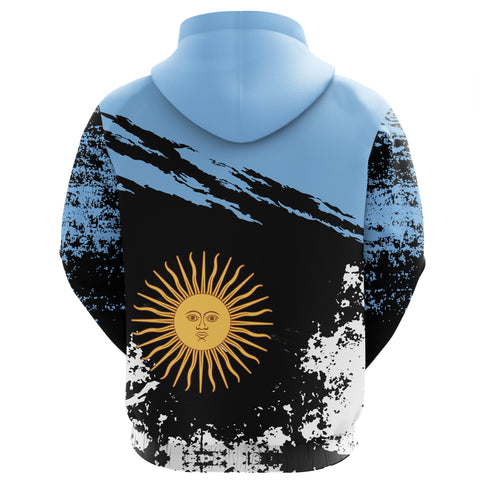 Image of Argentina Zip Hoodie Customized K5