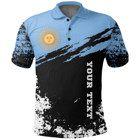 Argentina Polo Shirt Customized K5