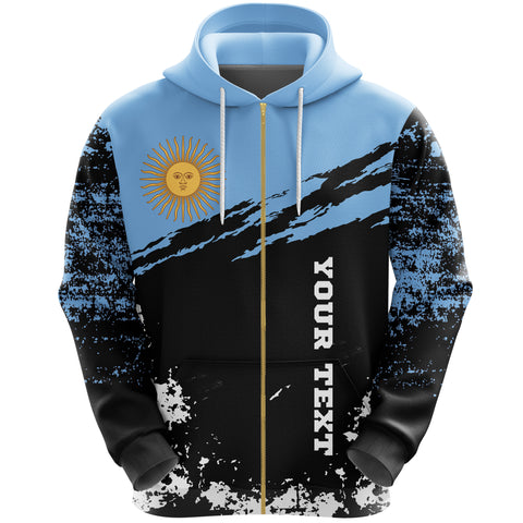 Argentina Zip Hoodie Customized K5