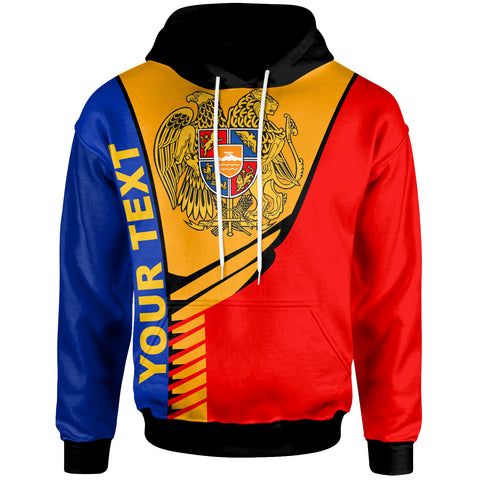 Image of Armenia Custom Personalised Hoodie - Modern Style - BN20