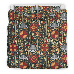 Vikings Pattern Duvet Cover K5