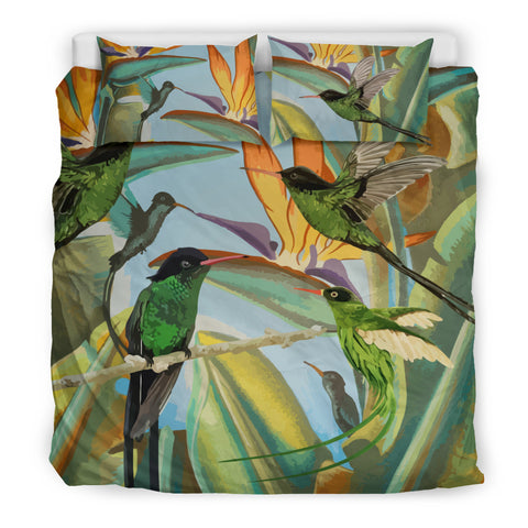 Jamaica Doctor Bird Bedding Set Ôªø- Jamaican Bedding Set - Bedding Set - Doctor Bird - Jamaican Bird - Doctor Bird Bedding Set - Jamaica Symbols