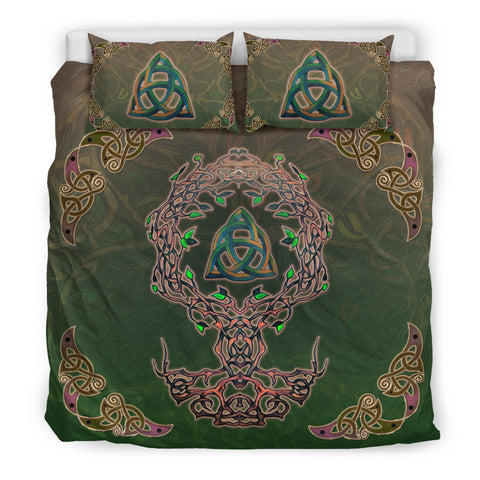 Image of Celtic Tree Of Life Bedding Set J7