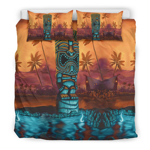 Hawaii Bedding Set Tiki - King size