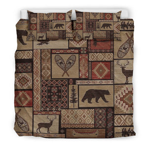 rustic, bedding set, Duvet Covers, moose, bear