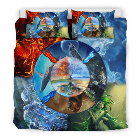 Native American Bedding Set - Four Element - BN04