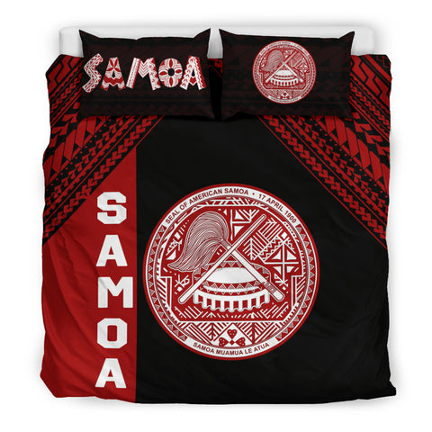 Seal of American Samoa Bedding Set K4