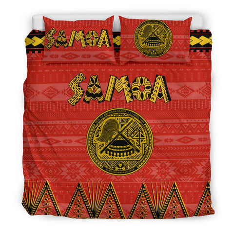 Image of American Samoa Bedding Set K4