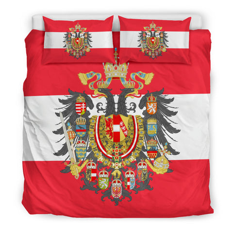 Austria Coats of Arms Duvet Cover H4