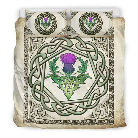 Thistle, Scottish, Celtic Patterns, Bedding Set, Thistle Scottish Bedding Set, Celtic Patterns Bedding Set, bedding set