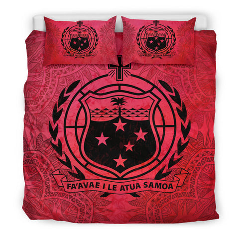 Samoa Red Bedding Set | Home Set | Love The World
