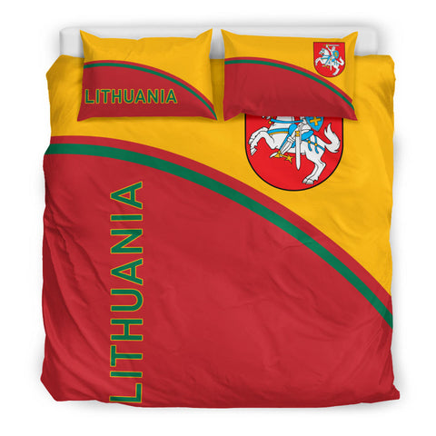 Lithuania Bedding Set - Curve Version king