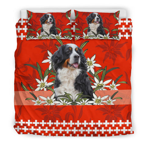 Switzerland Bedding Set Bernese Mountain Dog Red 2