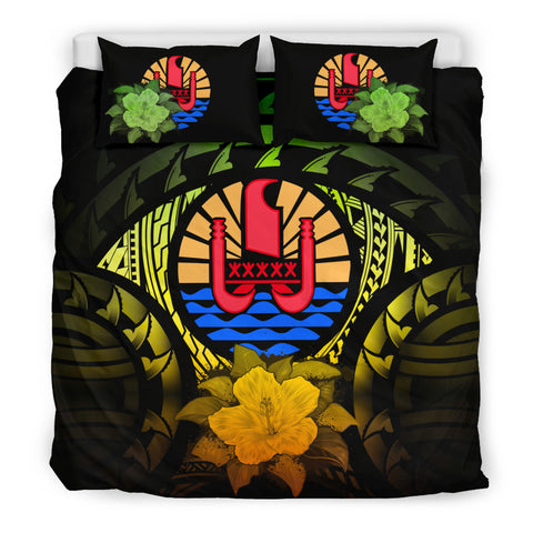 Image of Tahiti Reggae Hibiscus Bedding Set | Home Decor | Love The World