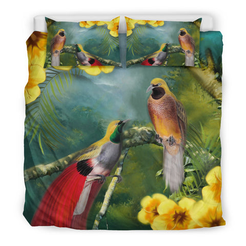 Image of Birds of Paradise Bedding Set Th0