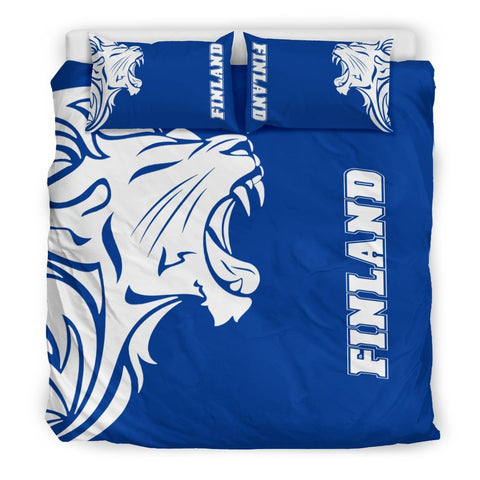 The Lion In Finland Bedding Sets