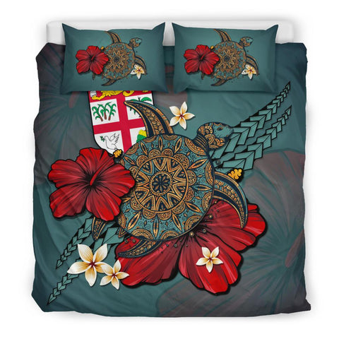 Fiji Bedding Set - Blue Turtle Tribal A02