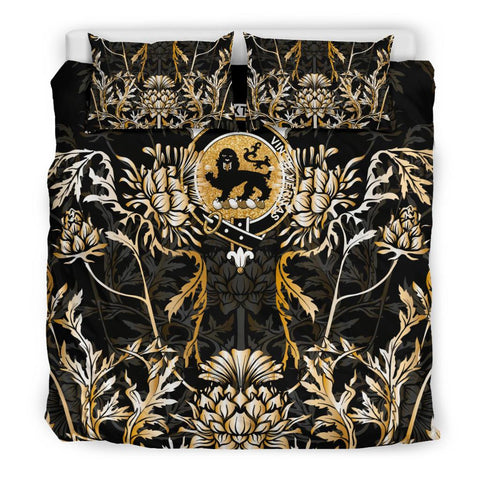 Image of Baxter Bedding Set - Gold Scottish Thistle | Over 300 Clans | Home Set