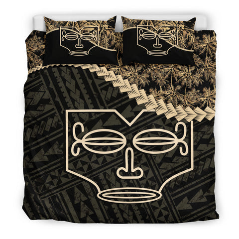 Image of Marquesas Islands Bedding Set Golden Coconut A02
