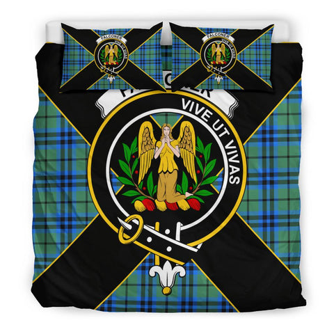 Image of Falconer Tartan Duvet Cover Set - Luxury Style King Size