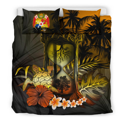 Tonga Bedding Set - Tongan Tree Of Life Hourglass A18