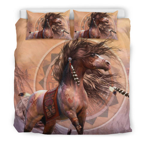 Native American Indian Horse Bedding Set K4