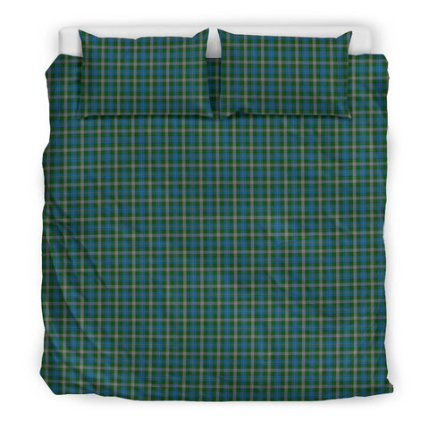 Image of Scotland Tartan Bedding Set Green A10