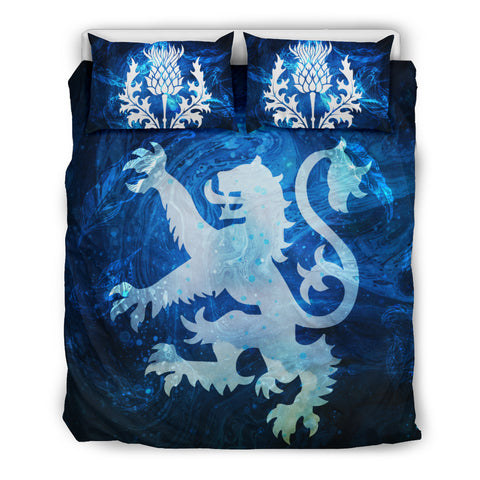 Scotland - Lion And Thistles Bedding Set Nn8