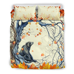 Canada bedding set - Beaver in maple tree NN8