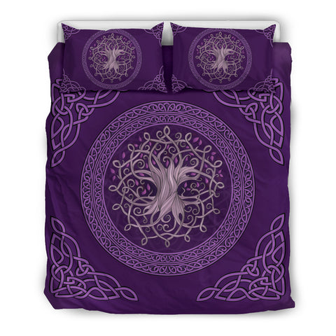 Celtic Bedding Set - The Celtic Tree (Purple Edition) | Hot Sale | Hot Product