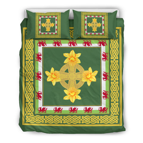Welsh Celtic With DaffodilÑ Bedding Set by 1sttheworld for Men and Women