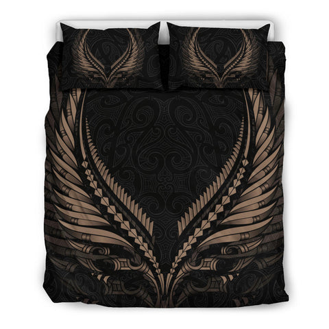 New Zealand - Maori Fern Tattoo Bedding Set A7