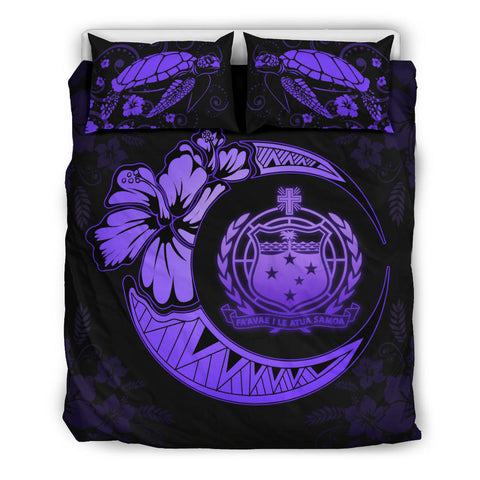 Image of Samoa Polynesian Bedding Set Violet