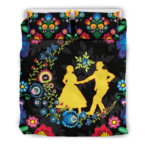 Image of Poland Bedding Set Dancing With The Moon 1