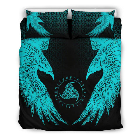 Vikings Bedding Set Muninn A7