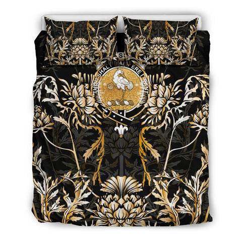 Image of Cranstoun Bedding Set - Gold Scottish Thistle | Over 300 Clans | Home Set