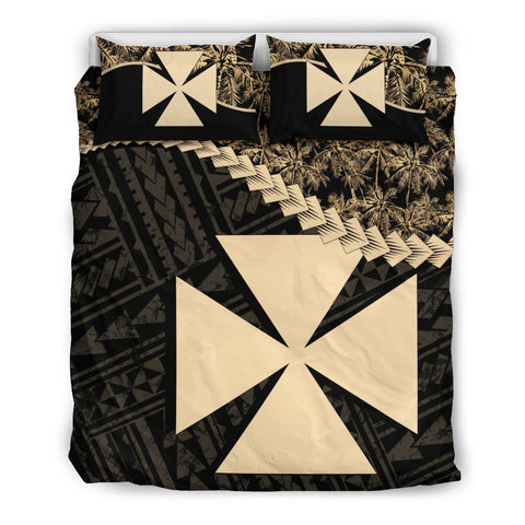 Wallis And Futuna Bedding Set Golden Coconut A02