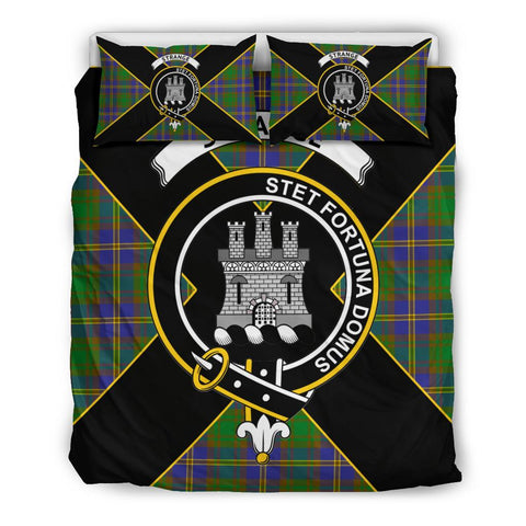 Image of Strange (or Strang) Tartan Duvet Cover Set - Luxury Style Queen Size