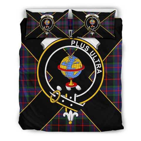 Nairn Tartan Duvet Cover Set - Luxury Style Queen Size