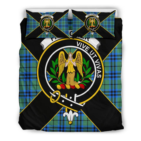 Image of Falconer Tartan Duvet Cover Set - Luxury Style Queen Size