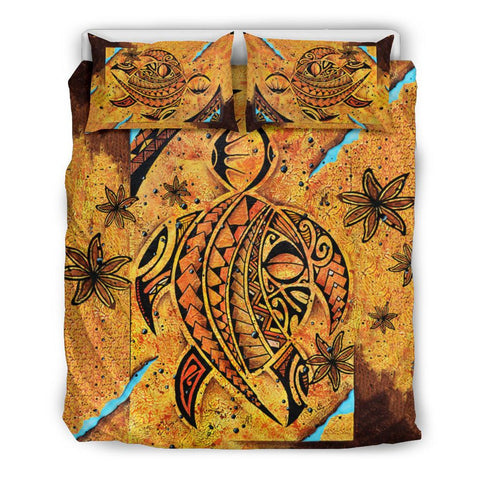 Polynesia Bedding Set Sunset Turtle