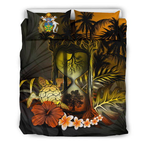 Solomon Islands Bedding Set - Tree Of Life Hourglass A18