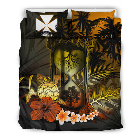 Wallis and Futuna Bedding Set - Tree Of Life Hourglass A18