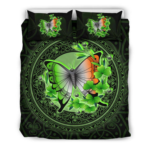 Ireland Bedding Set - Irish Butterfly and Shamrock | Love The World