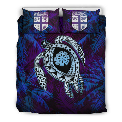Fiji Bedding Set - Tapa Turtle Tattoo Coconut Tree | Love The World