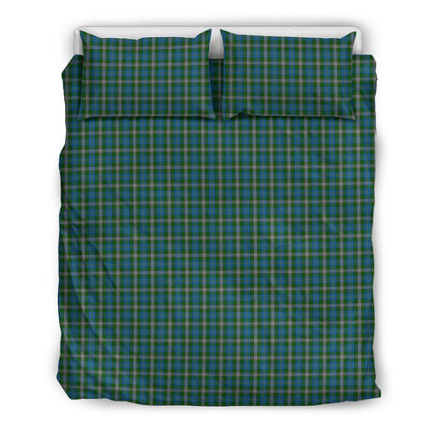 Scotland Tartan Bedding Set Green A10