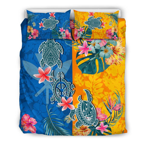 Hawaii Bedding Set Polynesian Turtle Special 2 | 1sttheworld