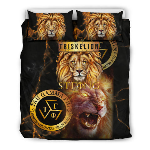 Philippines Bedding Sets - Tau Gamma Phi Lion - BN39